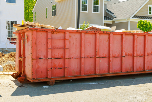 Red Dumpster Rental